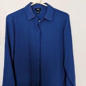Tops - Blue Collar Blouse (XS)